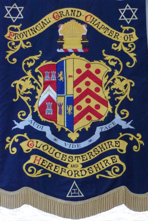 Provincial Royal Arch Banner of Gloucestershire and Herefordshire